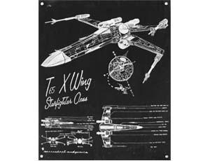 Cutaway Lunar Module & T65 X Wing